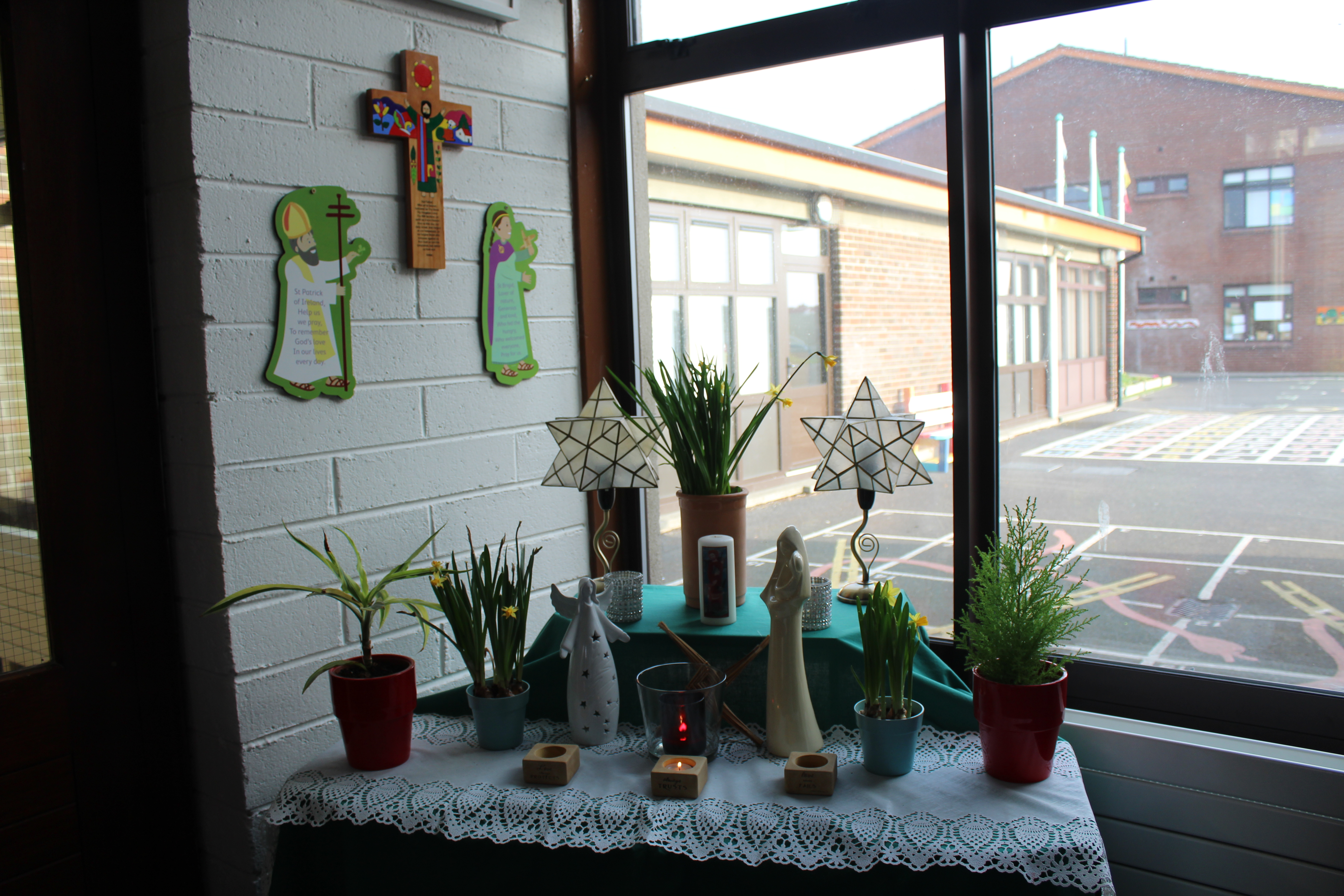 Sacred Space - School Entrance